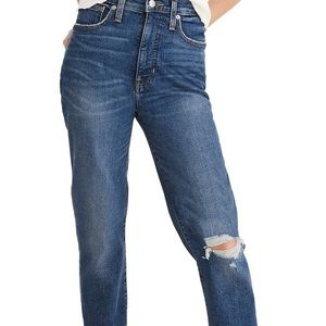 Made well comfort stretch mom jean